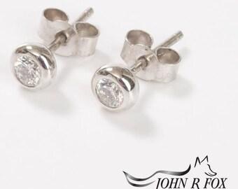 Chubbie Ear Studs 0.50carat Total.  John Fox