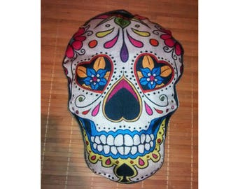 mexican skull cushion cover, Mexican skull pillow case
