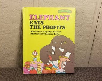 Elephant Eats The Profits Sweet Pickles Weekly Reader Book 1970's