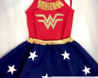 Girl Wonder Woman - Wonder Woman Costume Girls - Wonder Woman Toddler - Inspired Collection
