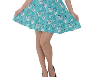 Squirtle Skirt - Short Skirt 1st Generation Pokemon Evolutions Skirt Wartortle Skirt Pokemon Skirt Blastoise Skirt Plus Size Cosplay Skirt