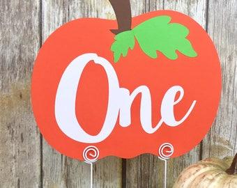 One Pumpkin Decor, Little Pumpkin, Table Decor, First Birthday, One Pumpkin, Photo Prop