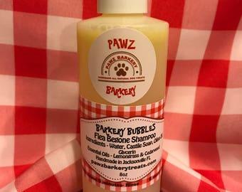 Dog Flea Shampoo - Barkery Bubbles Flea Begone