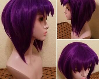 Ghost in the Shell Cosplay Wig, Motoko Kusanagi Wig.