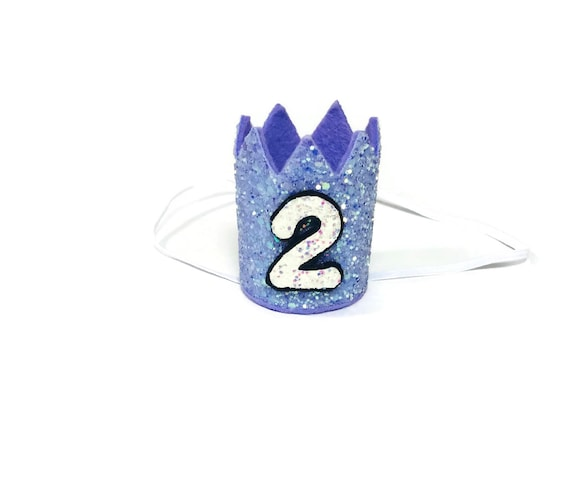 2nd Birthday Crown || Any Age || Dog Birthday Hat || Pet Party || Birthday Crown