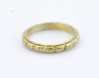 Gold Baby Ring Etsy
