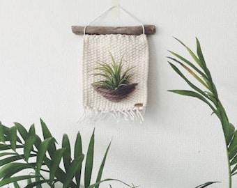 Macrame plant hanger wall hanging, modern macrame, wall art, wall decor, fiber art, bohemian wall art, macrame tapestry