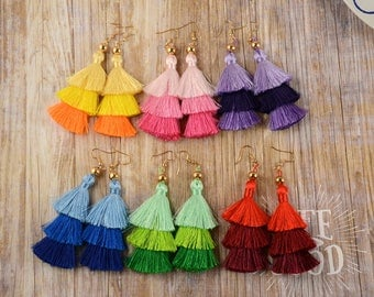 Image result for tassels earrings collage