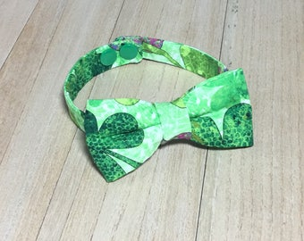 Bow Tie- Baby Bow Tie; St Patricks Bow Tie; Shamrock Bow Tie; Boy Bow Tie; Bowtie; Baby Bowtie; Bow Tie for Kids Baby Bow Tie Toddler Bowtie
