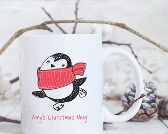 Personalised Christmas Mug - Christmas Coffee Mug - Christmas Mug for Her - Custom Coffee Mug - Custom Christmas Mug