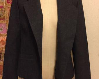 Vintage Gray Pendleton Wool Blazer