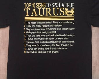 Taurus Zodiac T-shirt | Taurus Zodiac Shirt | Taurus Astrology Birthday Gift | Taurus Zodiac Sign | Taurus Horoscope Astrology