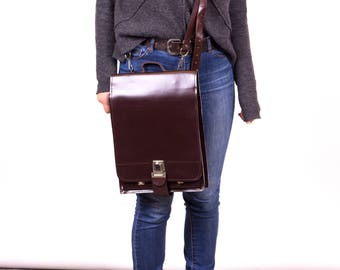 Leather Satchel, Women Satchel, Satchel Bag, Leather Messenger Bag, Brown Leather Shoulder Bag, Cross Body Bag,
