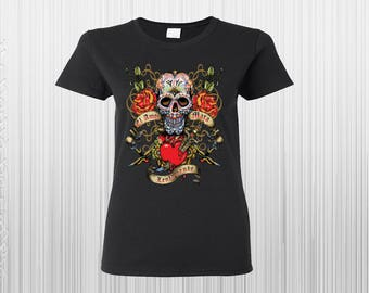 Skull Shirts, La Amor Mata Lentamente Skulll Shirt, Frida Kahlo Shirt, Day Of The Dead Shirt, Sugar Skull Shirt, Dia De Los Muertos Shirts