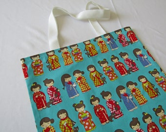 Kawaii Cute Japanese Girls Tote Shopper Bag