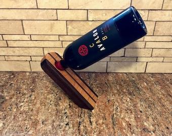 Wine Bottle Holder, Balancing Wine Bottle Holder, Wine Bottle Stand, Magic Wine Bottle Holder