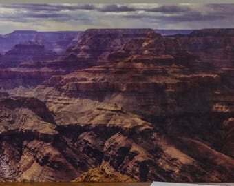 South Rim of the Grand Canyon Post Card