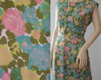 Fabulous 50s/60s Briarbrook Floral Mad Men Style 3 Pieces