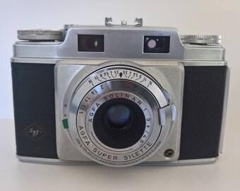 Agfa Super Silette, Rangefinder Camera (First Model), West Germany, 1955