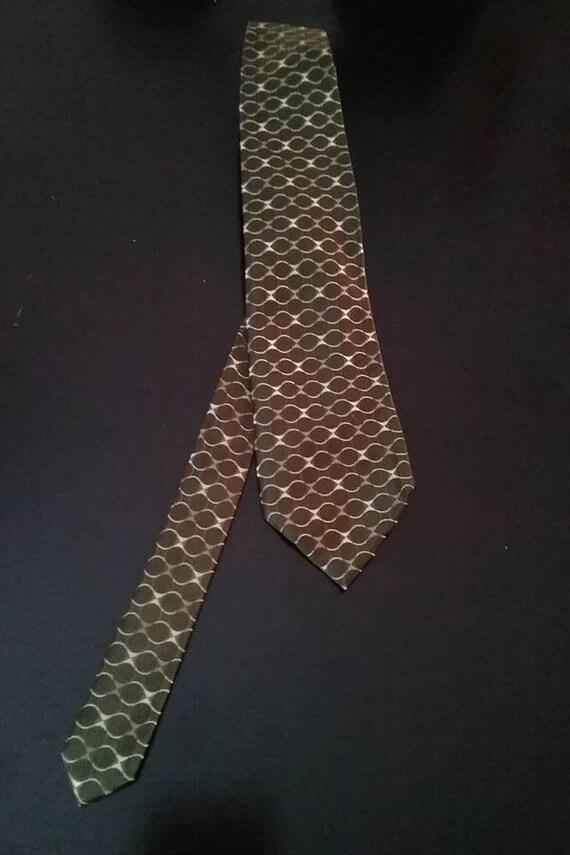Men's Tie, Vintage Banana Republic Tie, Steampunk Tie, Diesel Punk Tie, Retro Banana Republic Silk Tie, Banana Republic Tie, Vintage Tie