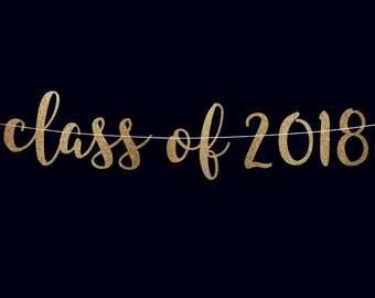 Graduation banner 2018