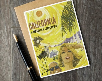California birthday cards, california christmas cards, california vacation, california postcards, california USA, california travel posters