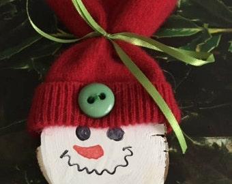 Snowman Ornament/Gift tag