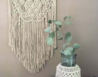 Large Macrame Wall Hanging, Modern Macrame Wall Tapestry, Boho Home Decor, Modern Macrame Wall Art, Boho Bedroom Decor, Nursery Decor