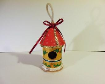 Elf House Ornament