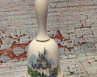 Vintage Walt Disney World Cinderella's Castle Collectors Bell