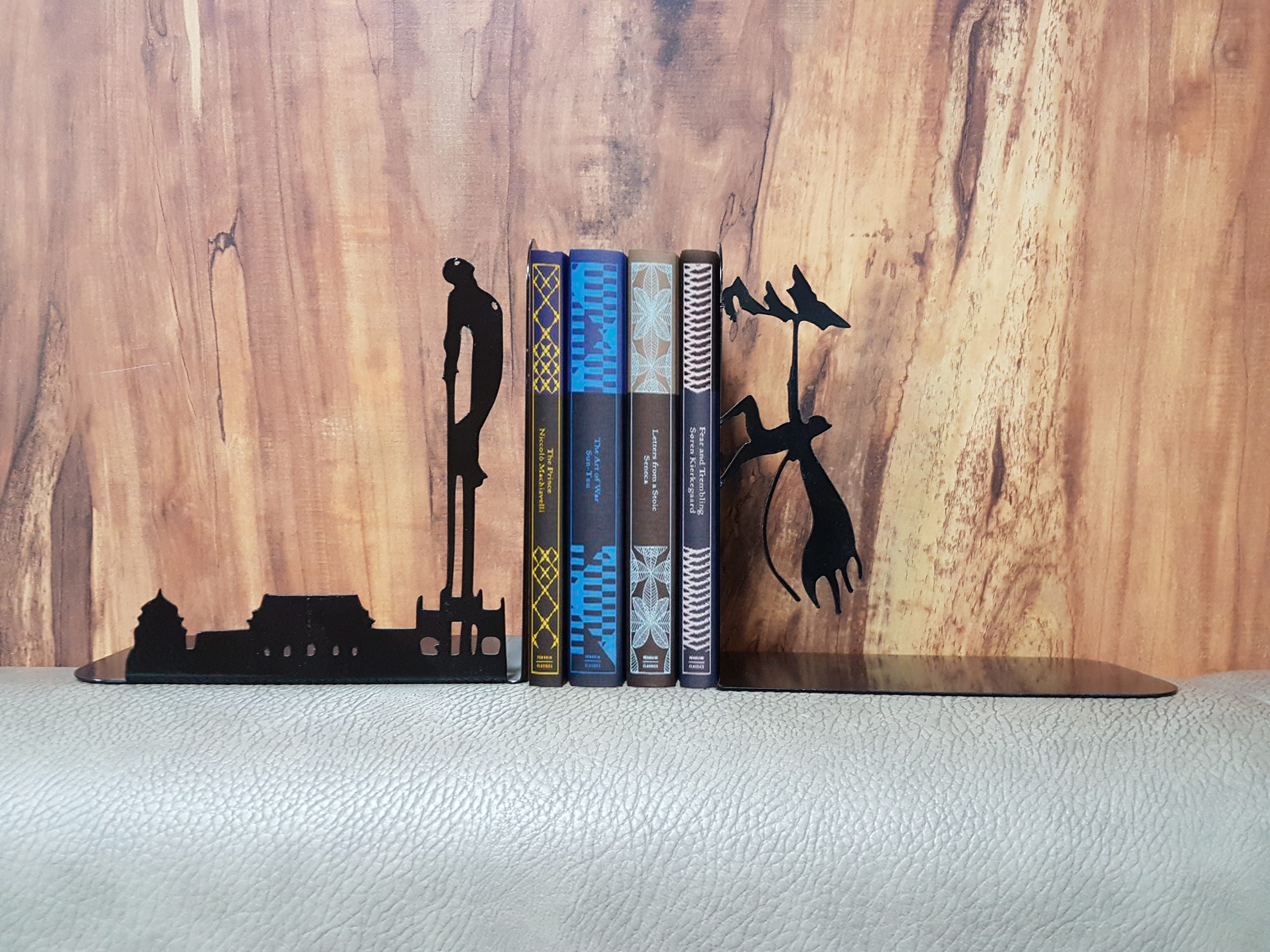 iron man batman bookend book support books t for him