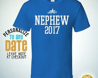 All Star Nephew Since (Any Year), Nephew Gift, Nephew Birthday, Nephew tshirt, Nephew Gift Idea, Baby Shower, Pregnancy