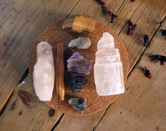 Crystal Kit ~ Aura Cleansing & Protection