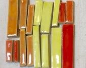 Red, Orange, Yellow Handm...