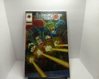 Bloodshot #0 1993 Chromium Foil , Mint Condition, Original Packaging, Vintage, Valiant Comics Collectors Item