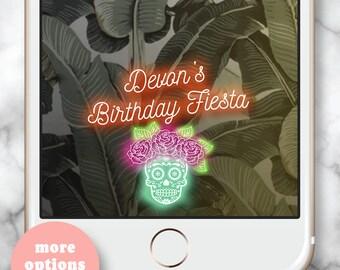 Dia de los muertos geofilter, Mexican Party, Day of the dead geofilter, Dia de los muertos Party, Let's Fiesta, Birthday Dia de los Muertos