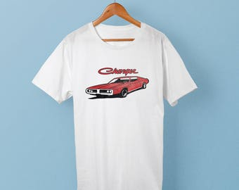 Muscle Car - 1974 Dodge Charger - T-shirt