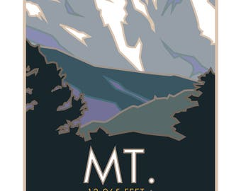 Mt Sopris Poster Colorado