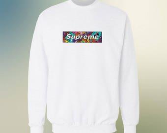 Supreme box logo sweatshirt, Supreme Sweatshirt Trending