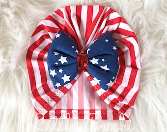 Patriotic Turban Hat