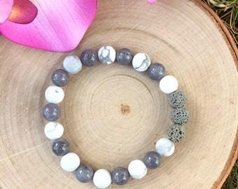 Aromatherapy Bracelet, Essential Oil Bracelet, Lava Rock Bracelet, Essential Oil Diffuser Bracelet, Yoga Bracelet, Meditation Bracelet, Gift