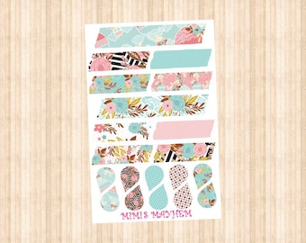 Hot Air Balloon Washi Strips & Drops // Happy Planner // Erin Condren //Personal