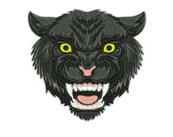 Panther Embroidery design - Machine embroidery design