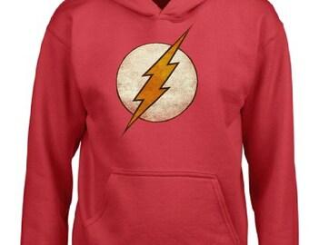 Flash Gordon Logo Adult Unisex Hoodie, Superhero Adult Hoodie