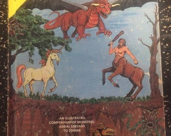 Advanced Dungeons & Dragons: Monster Manual from 1978 by TSR Games