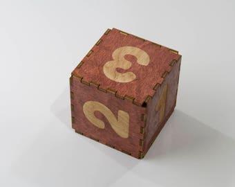 JUMBO Wooden D6 Dice