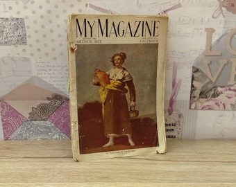 My Magazine December 1926 Issue Edited By Arthur Mee - Vintage Magazine