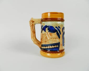 Mug of beer JAPAN landscape