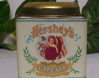 Hershey's Cocoa Tin, Collector Tin, 1980's