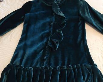 Velvet dress by Trish Scully, size 4